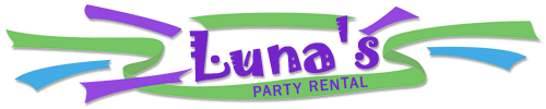 Logo, Luna's Party Rental